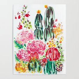 Paige's Garden Poster