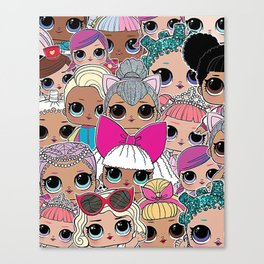 L.O.L Surprise Dolls Canvas Print