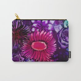 Floral Delights Carry-All Pouch