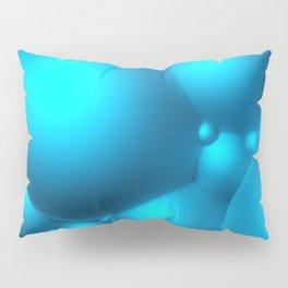 Blue Bubbles Pillow Sham