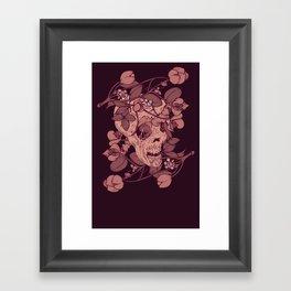 Rotting flowers Framed Art Print