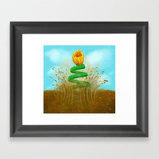 Sprung - Painting Framed Art Print