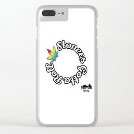 Stoner Gotta Roll Clear iPhone Case