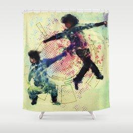 Gravity Shower Curtain