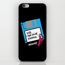 USB, I am Your Father | Retro Floppy Disk iPhone Skin