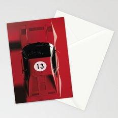 Super Car 13 Stationery Cards