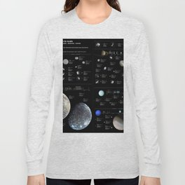 Small Bodies of the Solar System Long Sleeve T-shirt