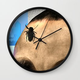 Fly: The Ceremony Is About To Begin Wall Clock
