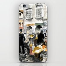 egg market iPhone & iPod Skin