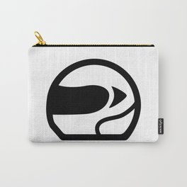 Racer Helmet Icon Carry-All Pouch