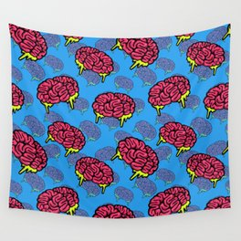 Brains Everywhere Wall Tapestry