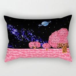 Celestial Fields of Fleeting Dreams Rectangular Pillow