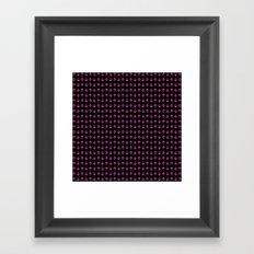 TRI PATTERN Framed Art Print