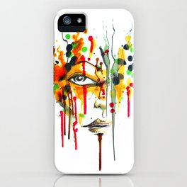 Encres iPhone Case