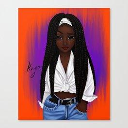 poetic Canvas Print