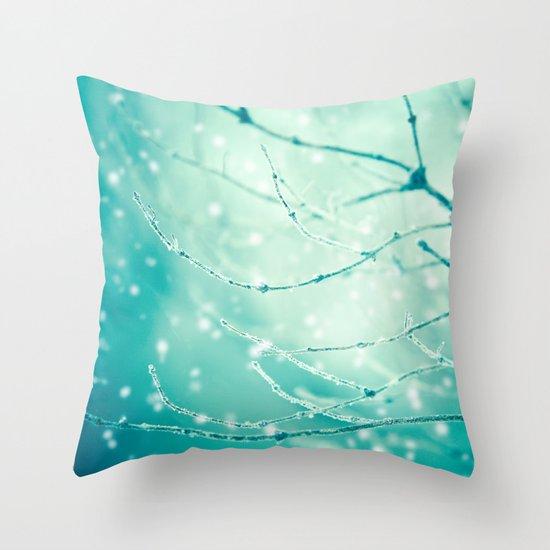 Sparkle and Glow Throw Pillow