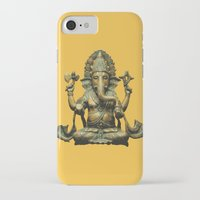 ganesha iPhone & iPod Cases featuring Ganesha by Justin Atkins