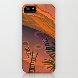 Ancestral Memories, Caves iPhone Case