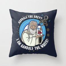Gandalf the White Detergent Throw Pillow