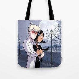 Albin et Karine Tote Bag