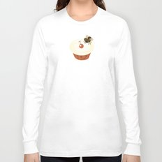 Fly on a Cupcake Long Sleeve T-shirt