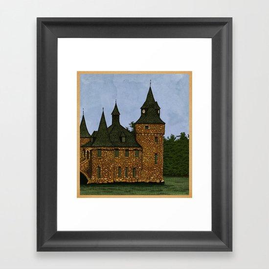 Jethro's Castle Framed Art Print