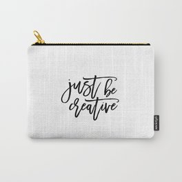 Kids Gift,Nursery Print,Inspirational Poster,Positive Quote,Positive Art,Motivational Quote Carry-All Pouch