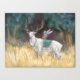 The Traveler Canvas Print