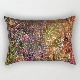 Abstract 295 Rectangular Pillow
