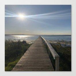 The longest jetty Canvas Print