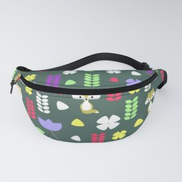 Foxes, flowers and more Fanny Pack