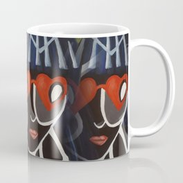 Girl from the Past by Lu Coffee Mug