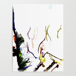 Abstract of Shapes and Color Poster