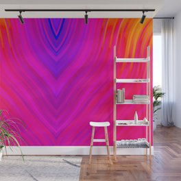stripes wave pattern 3 s120 Wall Mural