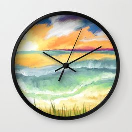 cast to Sea Wall Clock