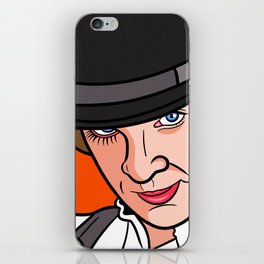 Malcolm McDowell Clockwork iPhone Skin