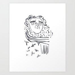 Gabriella 001 Art Print