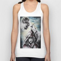 red riding hood Tank Tops featuring Little Red Riding Hood  by Bella Harris