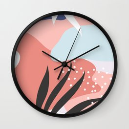 Memphis Art Wall Clock