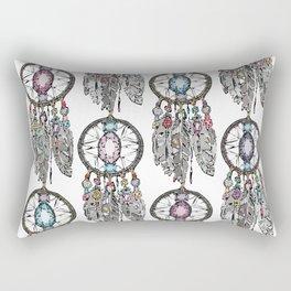 gemstone dreamcatcher Rectangular Pillow