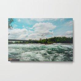 The Falls of Niagara Metal Print