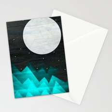 Night Waves Stationery Cards