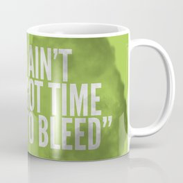 Badass 80's Action Movie Quotes - Predator Coffee Mug