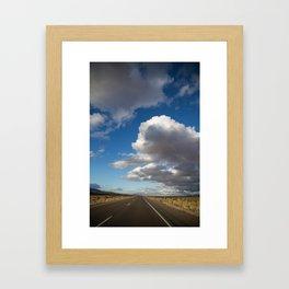 Highway 395 Framed Art Print