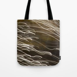 Sunlight on Frog Spawn, Abstract Bokeh ICM Tote Bag