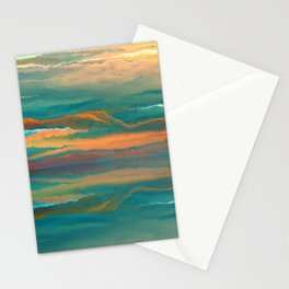 Landscape reflection Stationery Cards