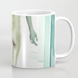 0092 Boyish Tall Brunette Nude Coffee Mug