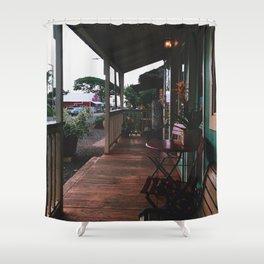 Haleiwa porch Shower Curtain