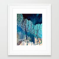Framed Art Prints featuring Atlantic  by Wildhumm