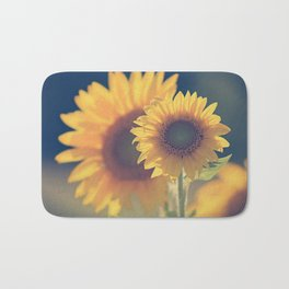 Sunflower 02 Bath Mat